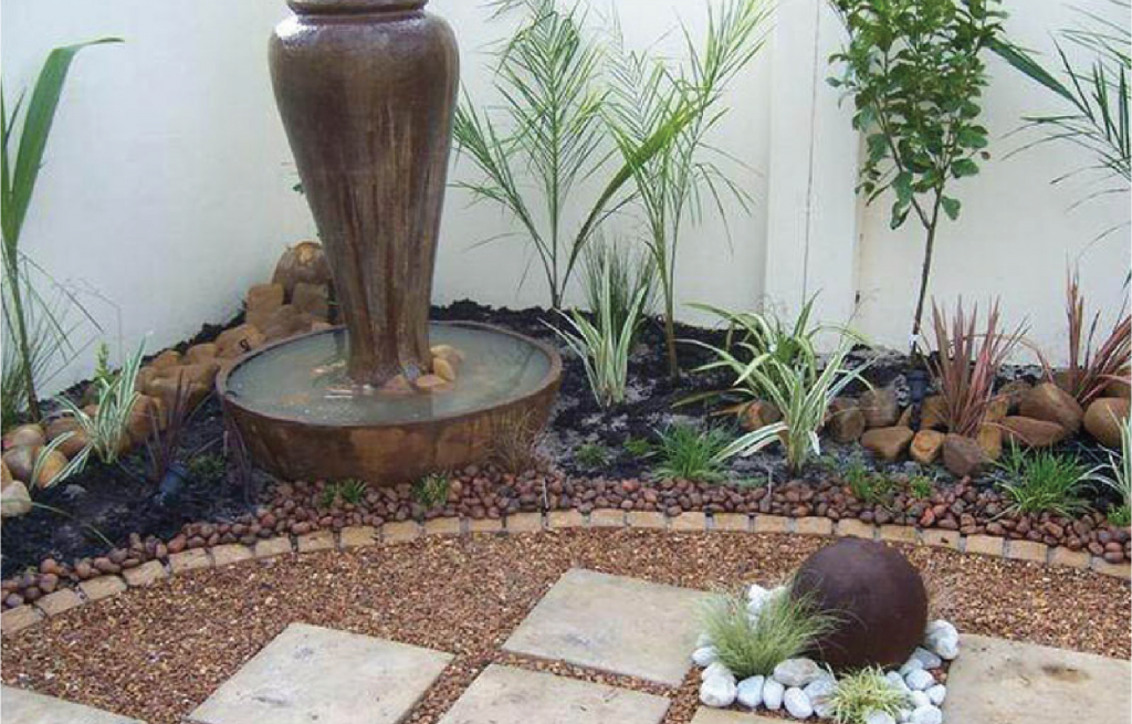 Low Maintenance Courtyard, Garden and Plant Ideas, Landscaping Cape Town